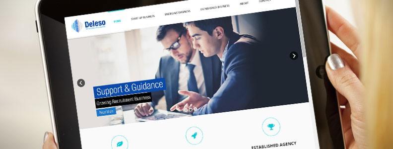 New company Web Page
